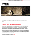 X-Flash - LANXESS China Newsletter